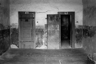 Theresienstadt Solitary confinement cells used by the Gestapo during the Nazi era. Small Fortress, Terezin, Czech Republic. November 2003.