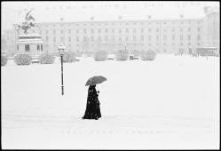 Heldenplatz, Vienna, Austria. January 2004.