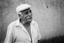 Bous al Carrer A citizen of Quatretonda, enjoying his town's fiesta. Quatretonda, Valencia, Spain. June 2008.