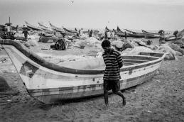 Madaras Fish Market Madras beach, India 2012